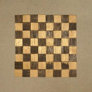Checkerboard puzzle: aligned